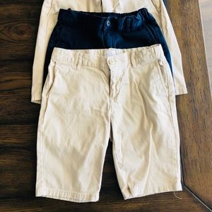 Childrens Place girls uniform shorts